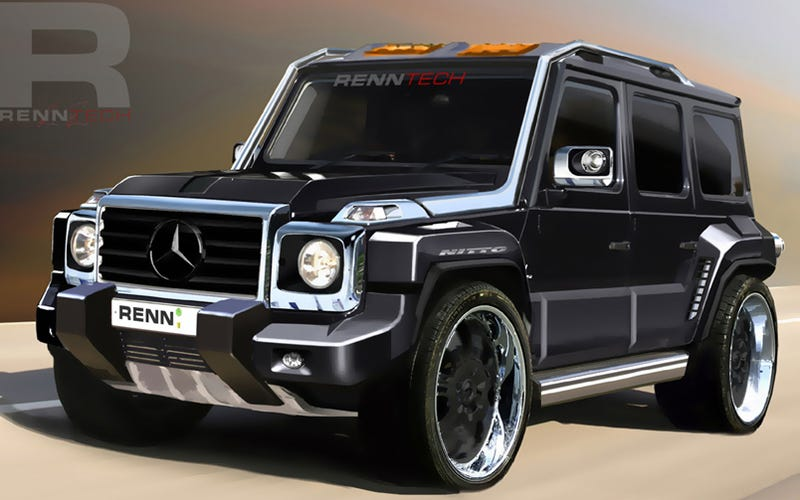 Nice Inspired By Our 30 Years Of G Wagens, The Power Mad Folks At RennTECH Sent  Us These Exclusive Renderings Of A Diesel G Series Concept Theyu0027re  Considering ...