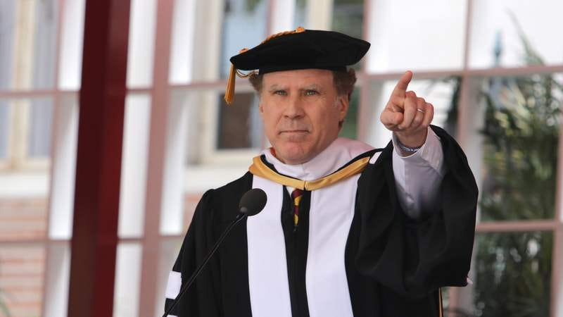 Illustration for article titled Dr. Will Ferrell has a musical message for the Class of 2017