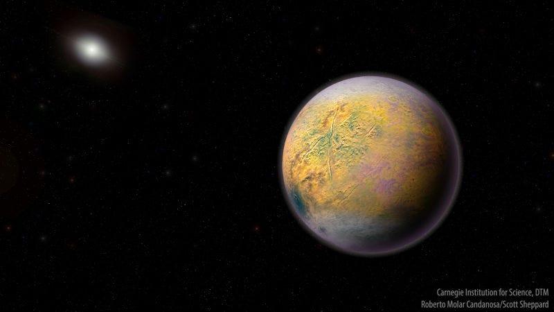Illustration for article titled Es oficial: hay un nuevo planeta enano en el Sistema Solar, y los astrónomos lo conocen comoGoblin