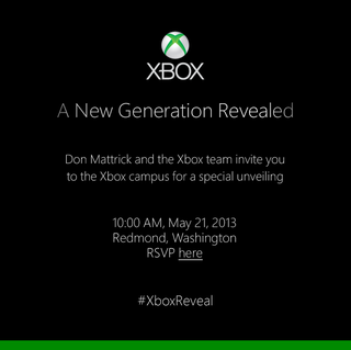Illustration for article titled The Next Xbox Will Be Revealed On May 21