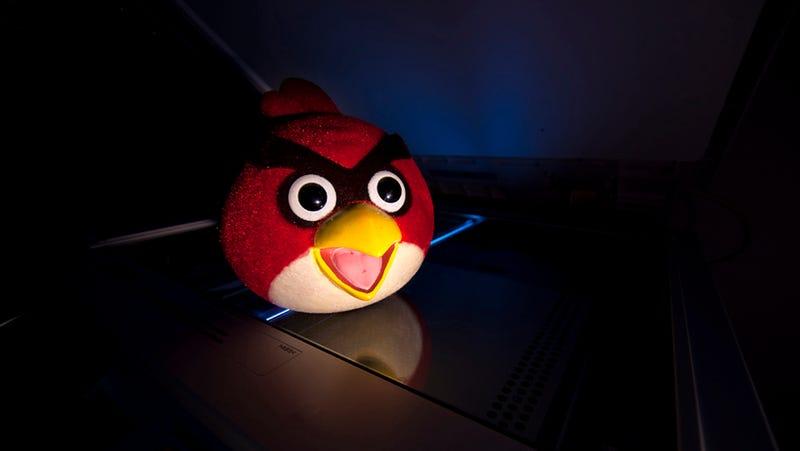 Illustration for article titled La NSA también te espía cuando juegas a Angry Birds