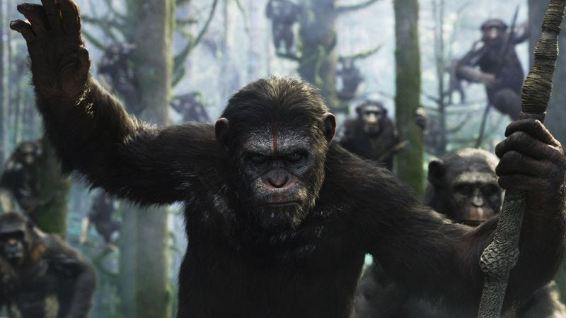 Illustration for article titled Chicago, see Dawn Of The Planet Of The Apes early and for free