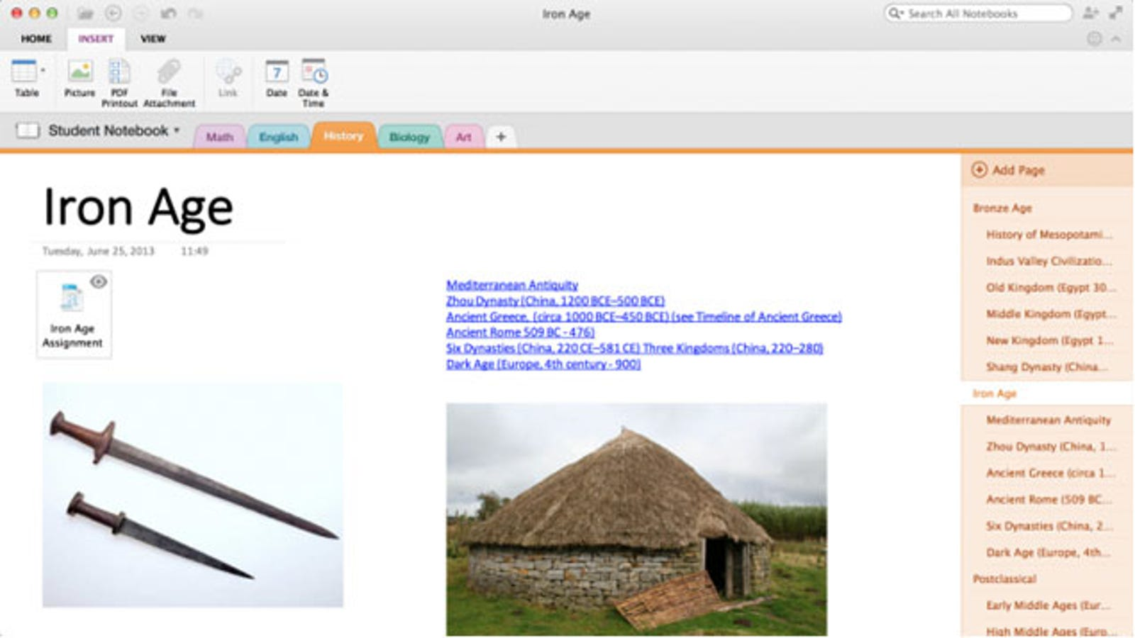 OneNote for Mac and iOS Gets Better Organization, Office