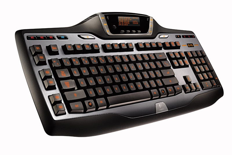 Illustration for article titled Logitech Updates G15 Keyboard with GamePanel LCD Screen