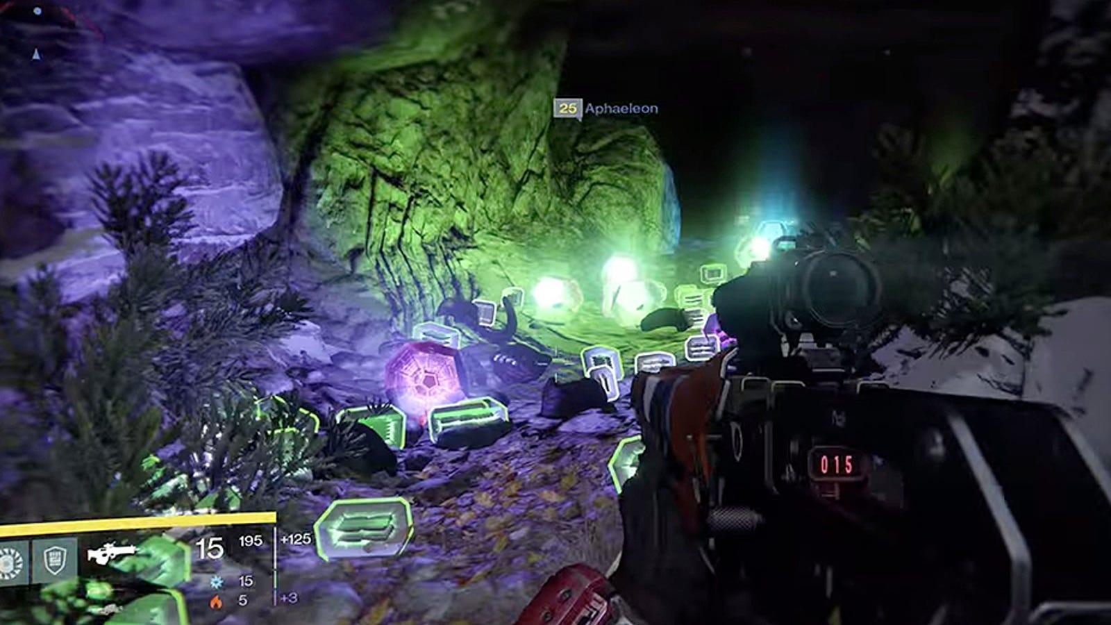 Bungie elimina el error de la cueva que daba equipo infinito en Destiny
