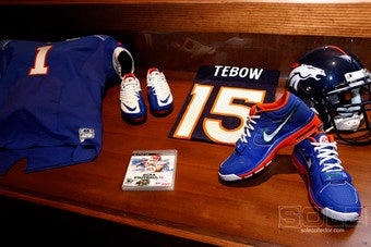 Illustration for article titled If Tebow's Tithing, the Lord Made Bank Off Nike Yesterday