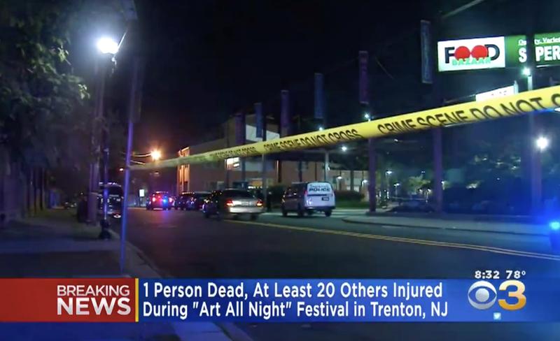 Illustration for article titled 22 Injured at Trenton, NJ, Arts-Festival Shooting