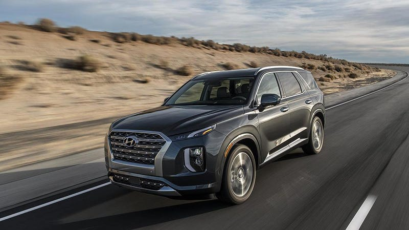 Illustration for article titled The 2020 Hyundai Palisade Is The Hugest Hyundai Ever
