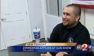 George Zimmerman at gun showYouTube