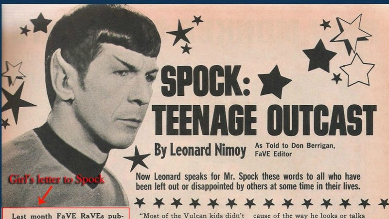 Illustration for article titled Your Morning Cry: Leonard Nimoy's Touching 1968 Advice Column Answers Teen Biracial Girl