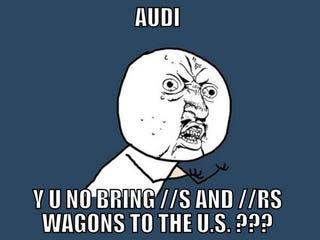 Illustration for article titled Audi Wagon Meme