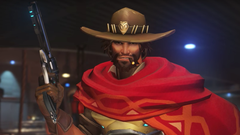 Illustration for article titled Overwatch Fans Are Drawing McCree As A Waiter Thanks To The New Event