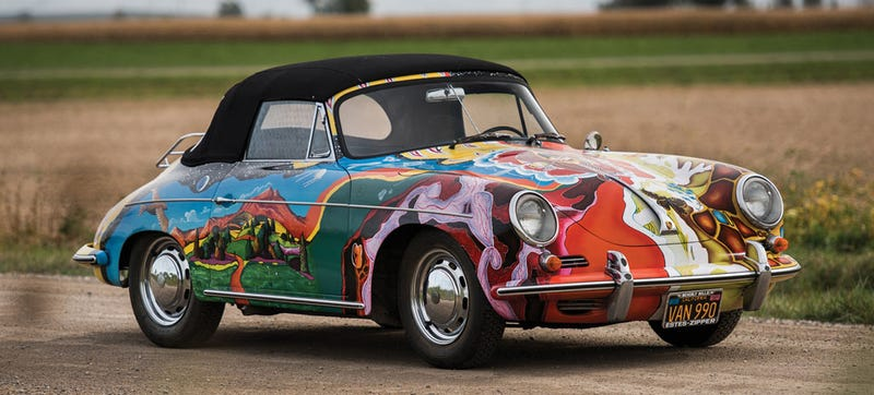 Illustration for article titled Is Janis Joplin's 'History of the Universe' Porsche 356 Worth Half A Million Dollars?