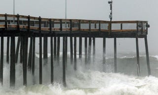 Ocean City, Md., prepares for Hurricane Irene to pass. (Getty)