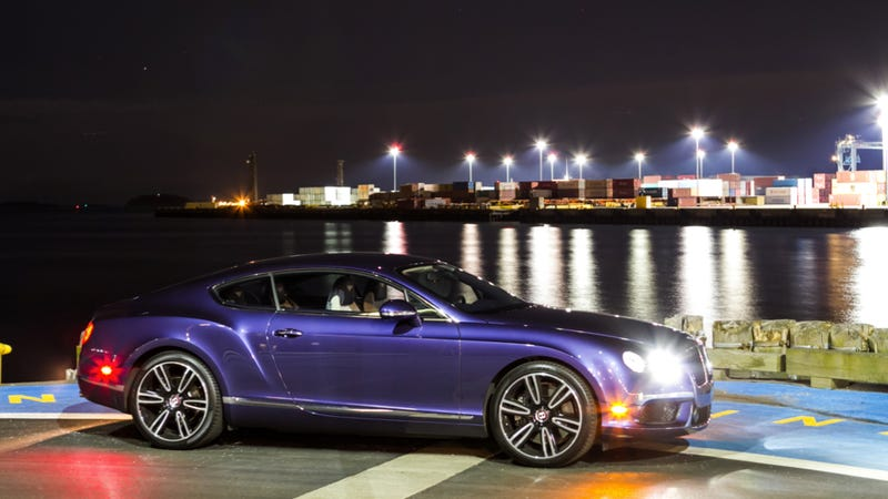 Illustration for article titled Would You Drive A Purple Bentley?