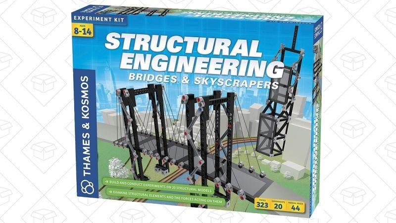 Set de construcción de puentes y rascacielos Thames & Cosmos | $30 | AmazonGráfico: Shep McAllister