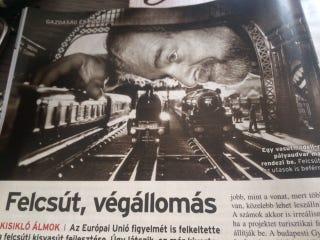 Illustration for article titled Akkorát kamuztak a felcsúti kisvasútról, hogy az az EU-nak is feltűnt