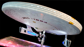 Illustration for article titled The prettiest and most expensive Miranda-Class Starship you've ever seen