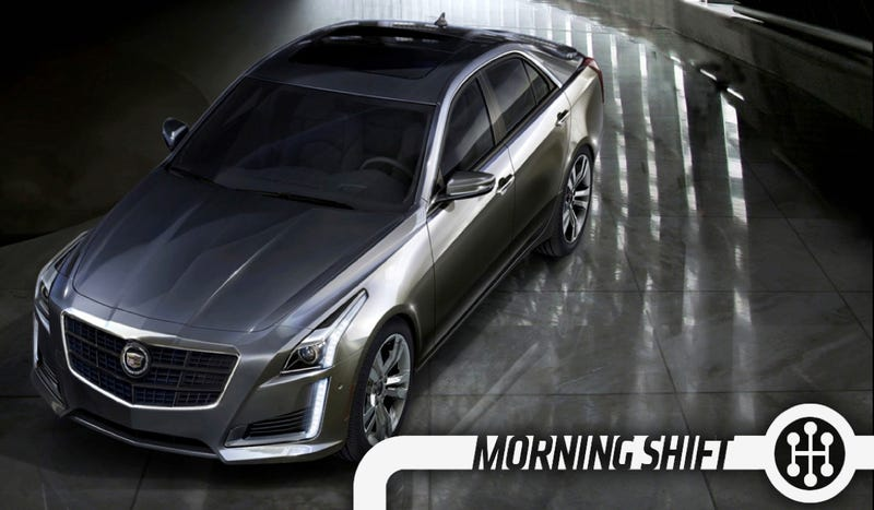 Illustration for article titled The 2014 Cadillac CTS Is A Sexy Beast