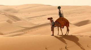 Illustration for article titled Screw Cars, Meet the Google Street View Camel