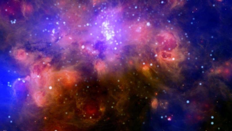 El agujero negro de masa intermedia fue encontrado en una nube de gas similar a esta. (Imagen: X-Ray: NASA/CXC/PSU/L.)