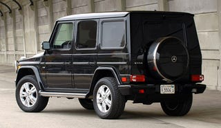 Illustration for article titled Is the Merc G550
