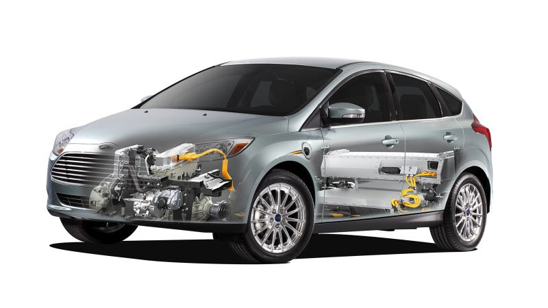 Illustration for article titled New Ford Focus Electric Leads Green Charge At Low Carbon Vehicle 2013