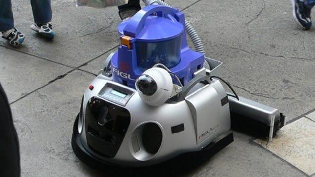 Figla Robot: Super Roomba
