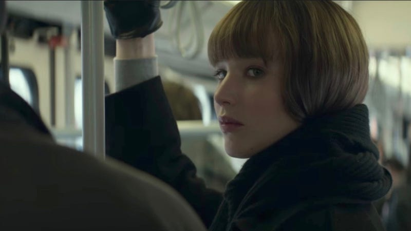 Jennifer Lawrence in Red Sparrow. Image: Fox