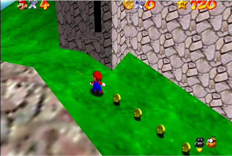 Mario 64 Players Have Found Another Impossible Coin