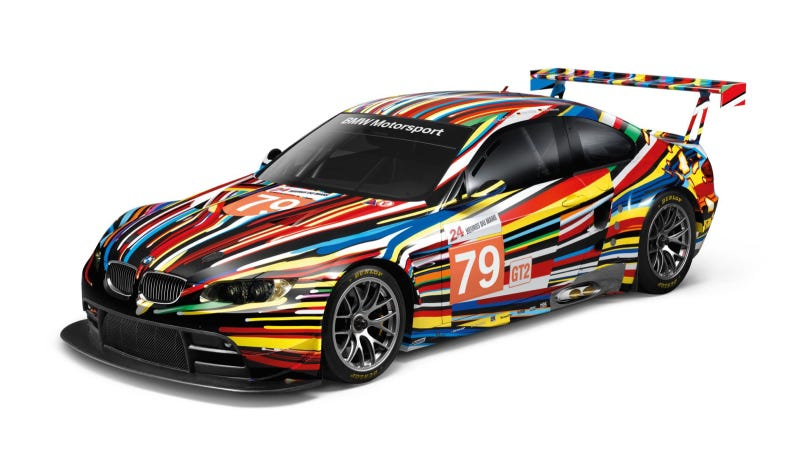 Illustration for article titled Jeff Koons' BMW Art Car Celebrates North American Premiere
