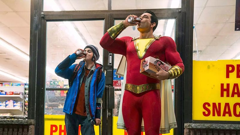 Illustration for article titled The New Shazam Movie Has Some Odd Video Game References