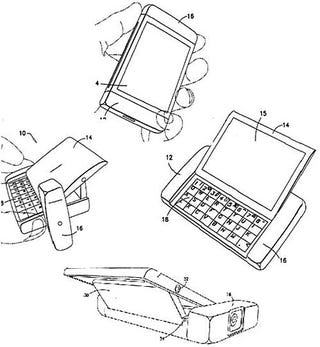 Illustration for article titled Nokia Sniffing Around Sidekick Territory with New Patent Application