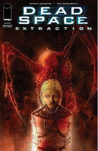 Illustration for article titled Dead Space Extraction Comic Hits Comic-Con