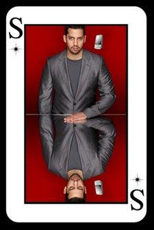 Illustration for article titled David Blaine Pretends To Like LG Shine For Big Sacks of Money