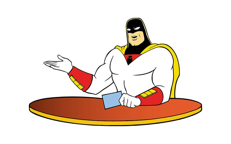 Illustration for article titled That Time Space Ghost Gave Peter Molyneux Shit At E3