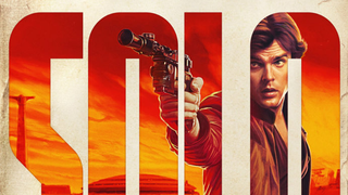 A poster for Solo: A Star Wars Story
