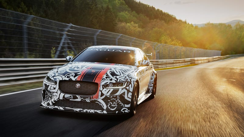 Jaguar XE SV Project 8 announced as 441kW Brit super-sedan