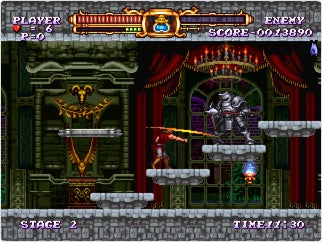 Illustration for article titled Castlevania: The Adventure ReBirth Screens