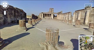 Illustration for article titled See the World From Your Couch: Pompeii Ruins Now on Google Street View