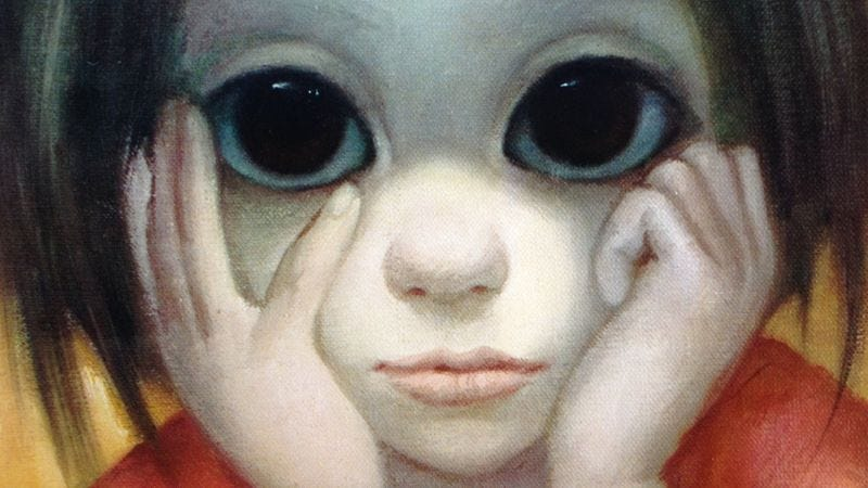 Illustration for article titled Tim Burton's Big Eyes is already boosting sales of Margaret Keane's art
