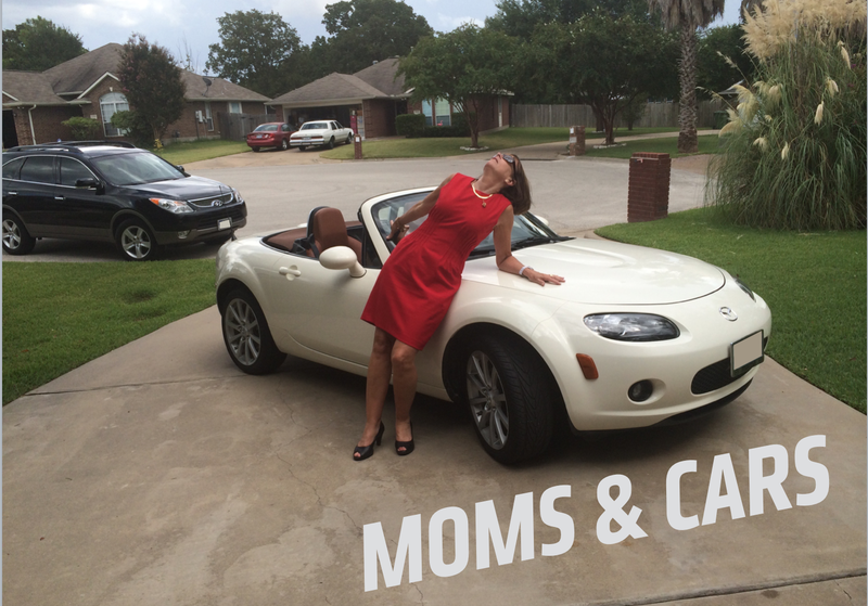 This is my mom. She loves her Mazda Miata, and firmly believes that a sports car is not a sports car if it has an automatic transmission.