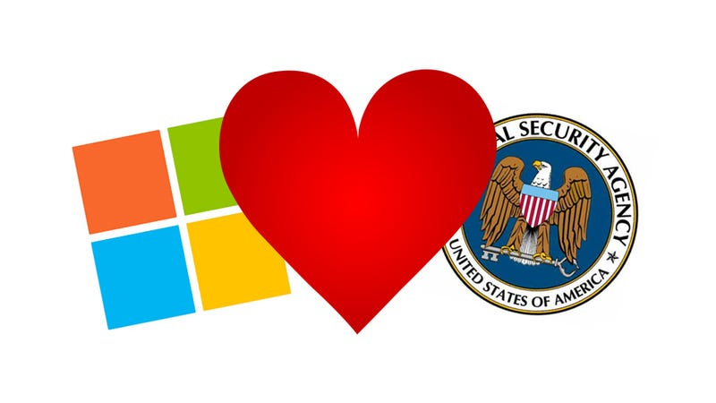 Illustration for article titled Report: Microsoft Gave NSA Access to Emails, Video Calls, and More
