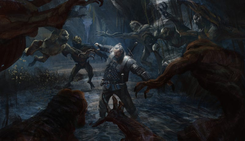 Illustration for article titled Even Old Witchers Can Kick Your Butt