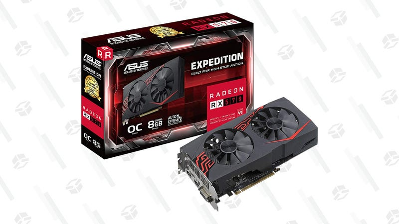 ASUS Expedition Radeon RX 570 8GB graphics card | $190 | Amazon