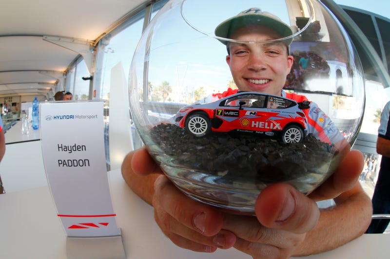 Illustration for article titled WRC Driver Hayden Paddon is Redefining Driver Interaction