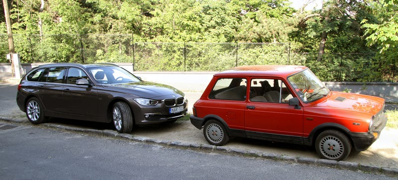 Illustration for article titled One Of These Fine Vehicles Is My Ride To The 24 Hours Of Nürburgring