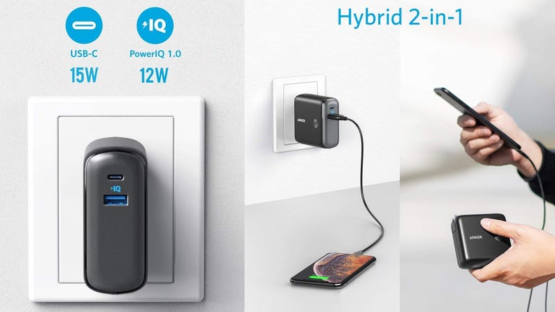 Anker's New PowerCore Fusion 10000 Is a Wall Charger, a