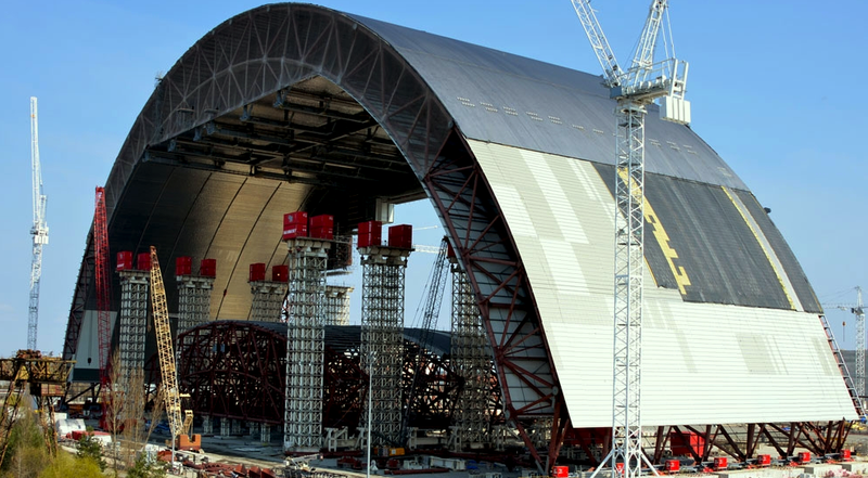 Chernobyl's Steel Radiation Shield Is the Biggest Moving ...