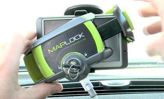 Illustration for article titled Maplock is Like a Steering Wheel Lock for Your GPS